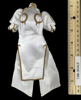 Street Fighter Chun Li - Cheongsam (White) Dress