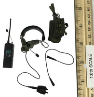 Delta Force - Radio (MBITR) w/ Headset and Pouch