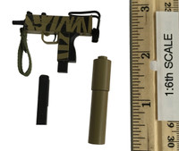 Dark Zone Agent: Tracy - Machine Pistol w/ Silencer & Extra Clip(MAC-11) (Camo)
