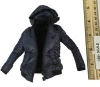 Dark Zone Agent: Tracy - Hooded Blue Heavy Jacket