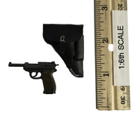 WWII SS Guard Officer Suit Set - Pistol (P38) w/ Holster