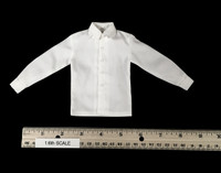 WWII SS Guard Officer Suit Set - Long Sleeve Shirt (White)