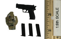 Seal Team Six - Pistol (P226) w/ Holster and Ammo