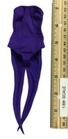 Bunny Girl Waitress Suit Sets - Outfit w/ Tails (Purple)