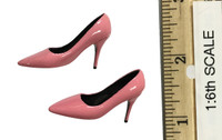 Bunny Girl Waitress Suit Sets - High Heels (Pink)