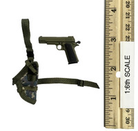 Fighting Girls in Camo - Pistol w/ Left Leg Holster (L)