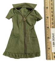 Sexy War Women Suit (Cloth Version) - Dress (Green)