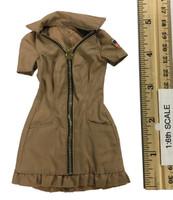 Sexy War Women Suit (Cloth Version) - Dress (Tan)