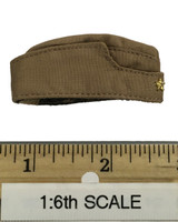 Sexy War Women Suit (Cloth Version) - Garrison Cap (Tan)