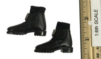 Major (CT-006) - Short Black Boots w/ Socks (For Feet) (See Note)