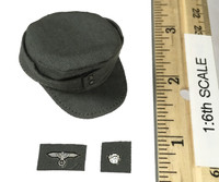 WWII German SS MG42 Machine Gunner - Combat Hat / Field Hat