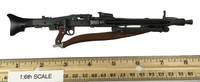 WWII German SS MG42 Machine Gunner - Machine Gun (MG42)