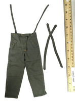 WWII German SS MG42 Machine Gunner - Winter Over Pants w/ Suspenders