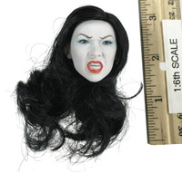 Frazetta Death Dealer v2 (Hell on Earth) - Head (Tan) (White Face) (No Neck Joint)