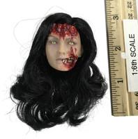 Frazetta Death Dealer v2 (Hell on Earth) - Head (Tan) (Zombie Female) (No Neck Joint)