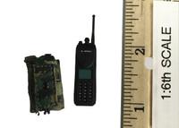 Snow Leopard Commando: Special Police GRP - Radio /  Walkie Talkie w/ Pouch