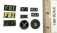 FBI HRT Agent Hostage Rescue Team - Patches