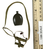 Japanese Army: Taisho Eleven Gunner Songhu 1937 - Canteen w/ Holster (Metal)