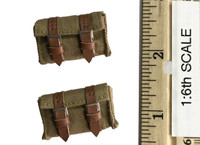 Japanese Army: Taisho Eleven Gunner Songhu 1937 - Pouches