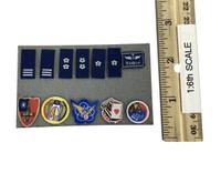Active Duty ROC Air Force Pilot - Patches