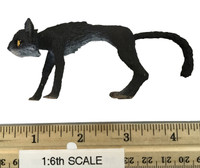 Monster Files: The Witch - Cat Figurine w/ Magnetic Neck & Head (can pop off)