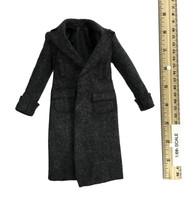 British Detective 3.0 - Long Dark Grey Wool Coat