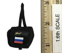 Russian Spetsnaz FSB Alfa Group 3.0 (Black) - Flag Pouch