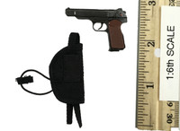 Russian Spetsnaz FSB Alfa Group 3.0 (Black) - Pistol (APS Automatic) w/ Holster