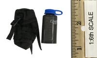 Russian Spetsnaz FSB Alfa Group 3.0 (Black) - Wide Mouth Bottle w/ Pouch