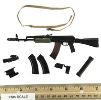 Russian Spetsnaz FSB Alfa Group 3.0 (Gorka) - Rifle (AK74M)