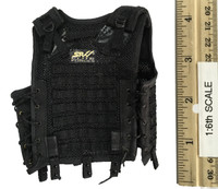 Russian Spetsnaz FSB Alfa Group 3.0 (Gorka) - Black Tactical Vest (SRVV Modular)