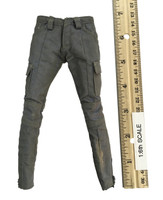 The Walking Dead: Michonne - Grey Distressed Cargo Pants