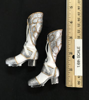 Silver Huntress - Boots (No Ball Joints)