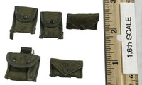 """Mike Force """"Baron"""" US Mobile Strike Command - Pouch Set"""