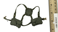 PLA Air Force Female Aviator - Flight Harness w/ Pouches