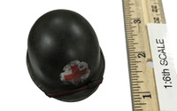 "77th Infantry Division Combat Medic ""Dixon"" - Medic Helmet w/ Red Cross(M1) (Metal)"