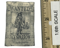 POTC: Dead Men Tell No Tales DX15: Jack Sparrow - Wanted Poster