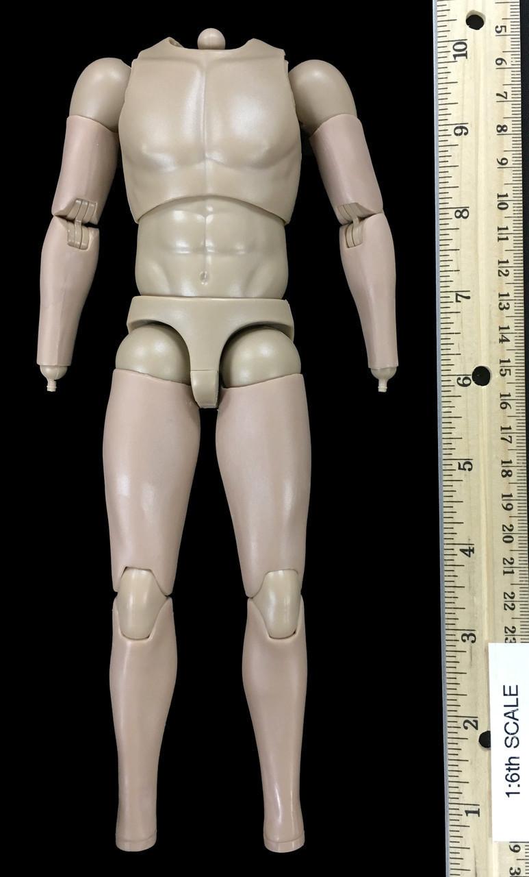 Ashigaru Musketeer 1//6 Scale Nude Figure *Loose Head* WGR Action Figures