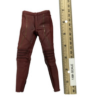 Lightning Man - Red Uniform Leather Pants