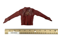 Lightning Man - Red Uniform Leather Jacket ? Shirt