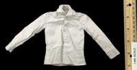 The Butcher - White Long Sleeve Shirt