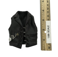 Monster Hunter Helsing - Black Leather Vest w/ Pocketwatch (See Note)