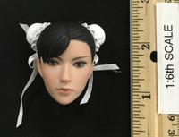 Super Duck Chun Li Cosplay Set - Head (No Neck Joint)