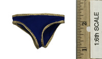 Super Duck Chun Li Cosplay Set - Panties (Blue)