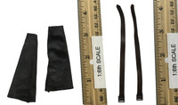 Female Mechanic Character Set (CT007-A) - Leg Sleeves w/ Straps