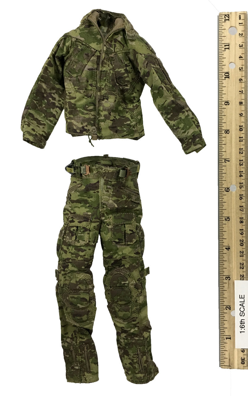 1//6 Scale FSB Alpha Group  A-Tacs Tactical Padded Molle Belt