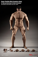 Super Flexible Seamless Male Body: Muscular w/ Metal Structure - Boxed Figure (PL2018-M35) (NO HEAD SCULPT INCLUDED)