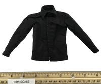 Spectre: Day of the Dead 007 - Black Long Sleeve Dress Shirt