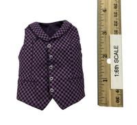 Mr. Pot - Checkered Vest