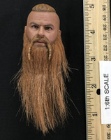 Vikings: Vanquisher (Valhalla Version) - Head (Relaxed Expression w/ Rooted Hair) (No Neck Joint)